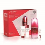 Shiseido Ultimune serum 50ml+esp. limpeza purificante 30ml+trat.30ml+cr.olhos 3ml