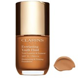 Clarins Everlasting youth fluid base fluida anti-idade 117 - hazelnut 30ml