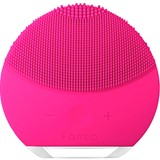 luna mini  2 compact facial cleansing device all skin type fuchsia