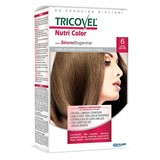 tricovel nutri permanent hair color 40+60+2x12ml | 6 - dark blonde