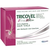 tricovel tricoage 45+  anti-ageing hair vials 10x3.5ml