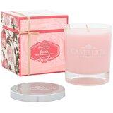 rosa vela perfumada 210g