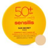Sun secret compacto de rosto maquilhagem anti-idade 02-golden 10g
