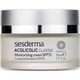 Acglicolic classic creme antienvelhecimento pele seca spf15 50ml