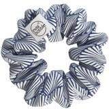 elástico cabelo sprunchie swim with mi santorini pack your bikini (blue)