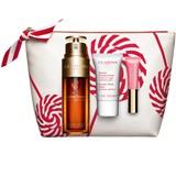 gift set double serum 50ml+baume beauté eclair 15ml+embelisseur lèvres #01 5ml
