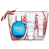 coffret água ressourçante 100ml + creme corpo veludo 100ml + esfoliante 30ml