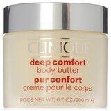 Deep comfort manteiga hidratante de corpo 200ml