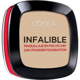 infallible 24h powder foundation 123 - warm vanilla 9g