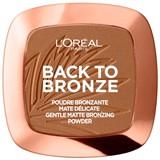 back to bronze gentle matte powder bronzer