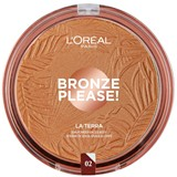 bronze please la terra pó bronzeador 02 - natural caramel