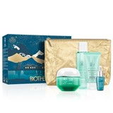Biotherm Coffret aquasource gel 50ml+lp elixir 7ml+mousse 50ml+loção 100ml+bolsa