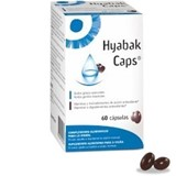 hyabak caps nutritional supllement for eye care 60capsules (expiring 03/2021)