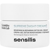 supreme renewal detox night cream 50ml + eyes cream 15ml
