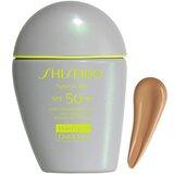 Shiseido Sports bb spf50+ wetforce solar com cor very dark 30ml