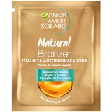 ambre solaire natural bronzer self-tanning wipe 1 un.