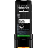 men expert total clean shower gel 400ml