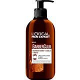 men expert barber club hair, face & beard shampoo 200ml
