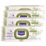 dermo soothing wipes  without perfume with extra olive oil 4x50units