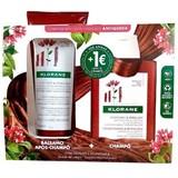 Klorane Bálsamo quinina fortificante 200ml + shampoo quinina 200ml