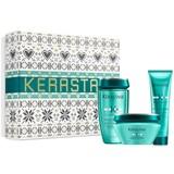 coffret resistance extentioniste shampoo 250ml+máscara 200ml+thermique 150mlml