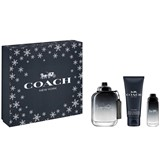 coffret coach for man eau de toilette 100ml+15ml+gel de duche 100ml