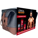 gift set men expert stress resist shower gel 400ml+deo 50ml+cream 50ml