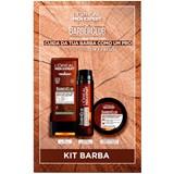 gift set men expert barber shampoo 200ml+cream 50ml+bag