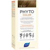 phytocolor coloração permanente 7.3 louro dourado