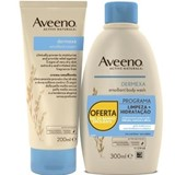 dermexa soothing cream 200ml + emollient bath gel 300ml