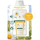 shampoo reflexos dourados extrato de camomila 400ml oferta bálsamo camomila 50ml