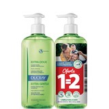 extra-doux dermo-protective shampoo frequent use 2x400ml