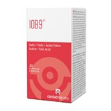 Iob9 suplemento alimentar com iodo e ácido fólico 30cápsulas