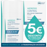 hidrosis roll-on anti-transpirante para axilas 2x40ml