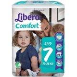 fraldas comfort 16-26kg, 21 unidades