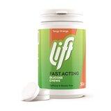 glucotabs/lift pastilhas de glicose pura sabor a laranja 50pastilhas