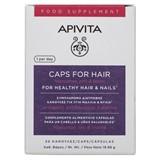 Apivita Cápsulas para queda de cabelo e fortalecimento de unhas 30un.
