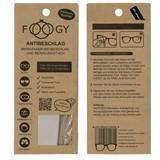 foogy anti-fog cleaning wipe 1unit