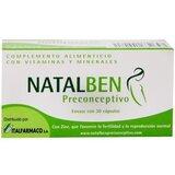 Natalben preconcetivo suplemento favorável de fertilização 30caps