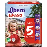 up & go diapers 10-14kg, 20 units