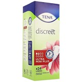 discreet ultra mini plus pantiliners 24units