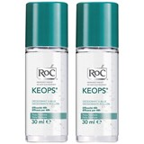 keops deodorant roll-on 2x30ml