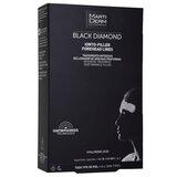 Martiderm Black diamond ionto-lift rugas e linhas da testa 4 patches