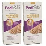 Pedisilk Pedisilk medical tratamento antifúngico para unhas 2x7ml