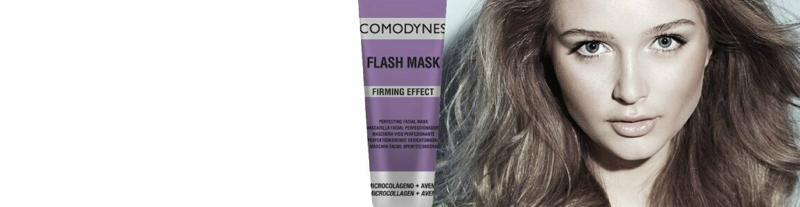 comodynes flash mascara refirmante microcolagenio aveia