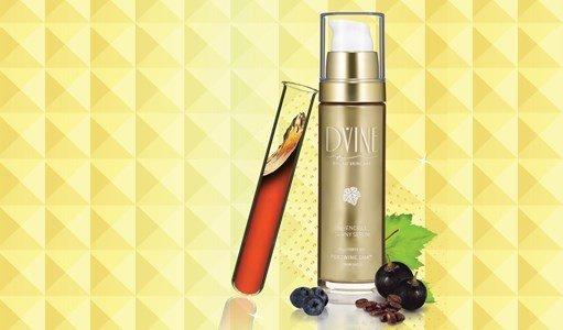 dvine serum ouro invencivel antienvelhecimento efeito lifting