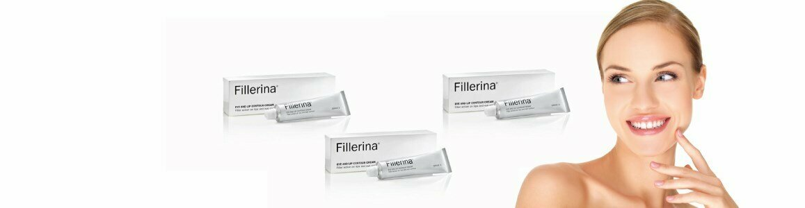 fillerina eyes lips contour cream aging grade 1