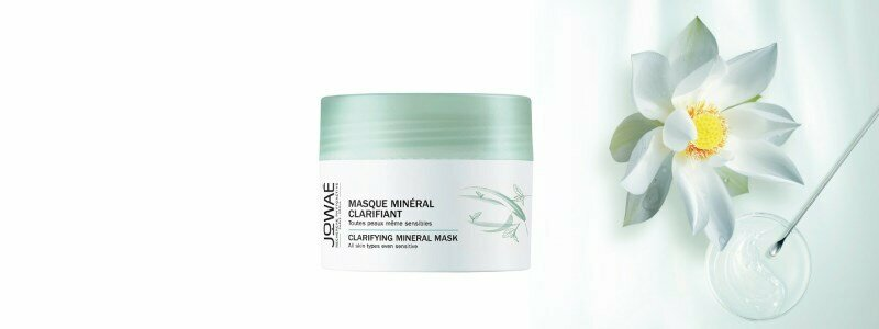 jowae clarifying mineral facial mask all skin types