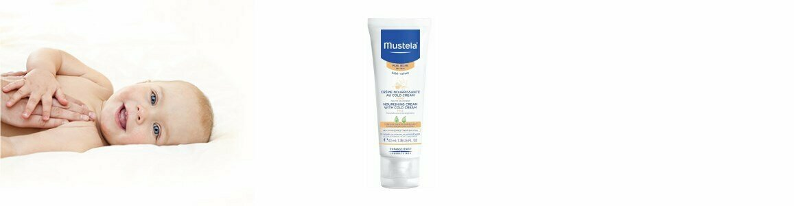 mustela cold cream nutritivo protector pele seca do bebe