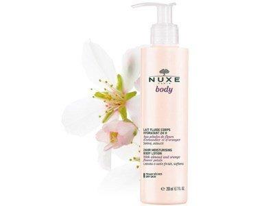 nuxe body leite corpo hidratante